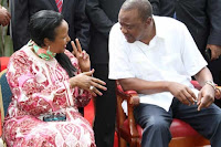 mohammed - Shock! See what CS AMINA MOHAMMED told UHURU after he demoted her from Education docket to mere Sports even after helping him with ICC issue?