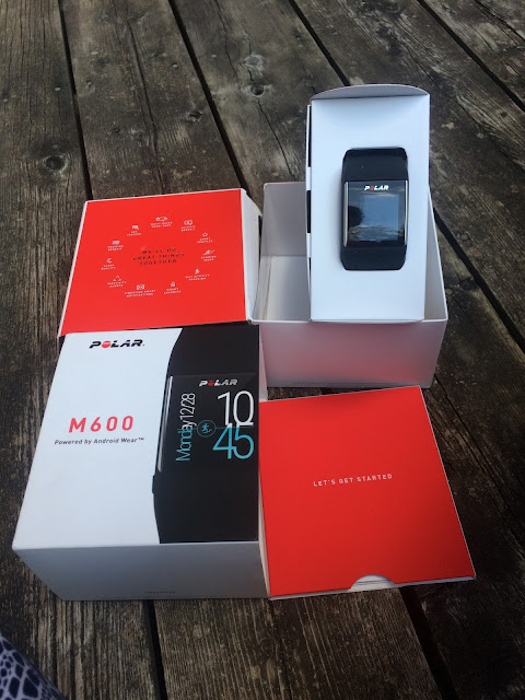 The PolarM600 AndroidWear Smart Watch