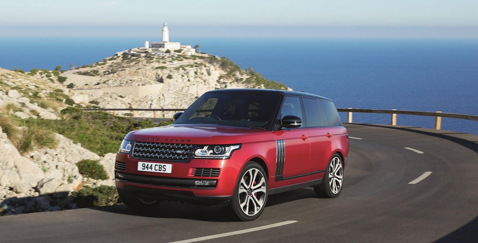 Внедорожник Range Rover