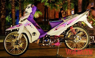 Foto Vega ZR Thailook Style Putih