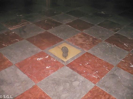 La huella del diablo en la catedral de Munich