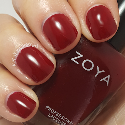 Zoya Urban Grunge Once Coat Creams - Courtney | Kat Stays Polished
