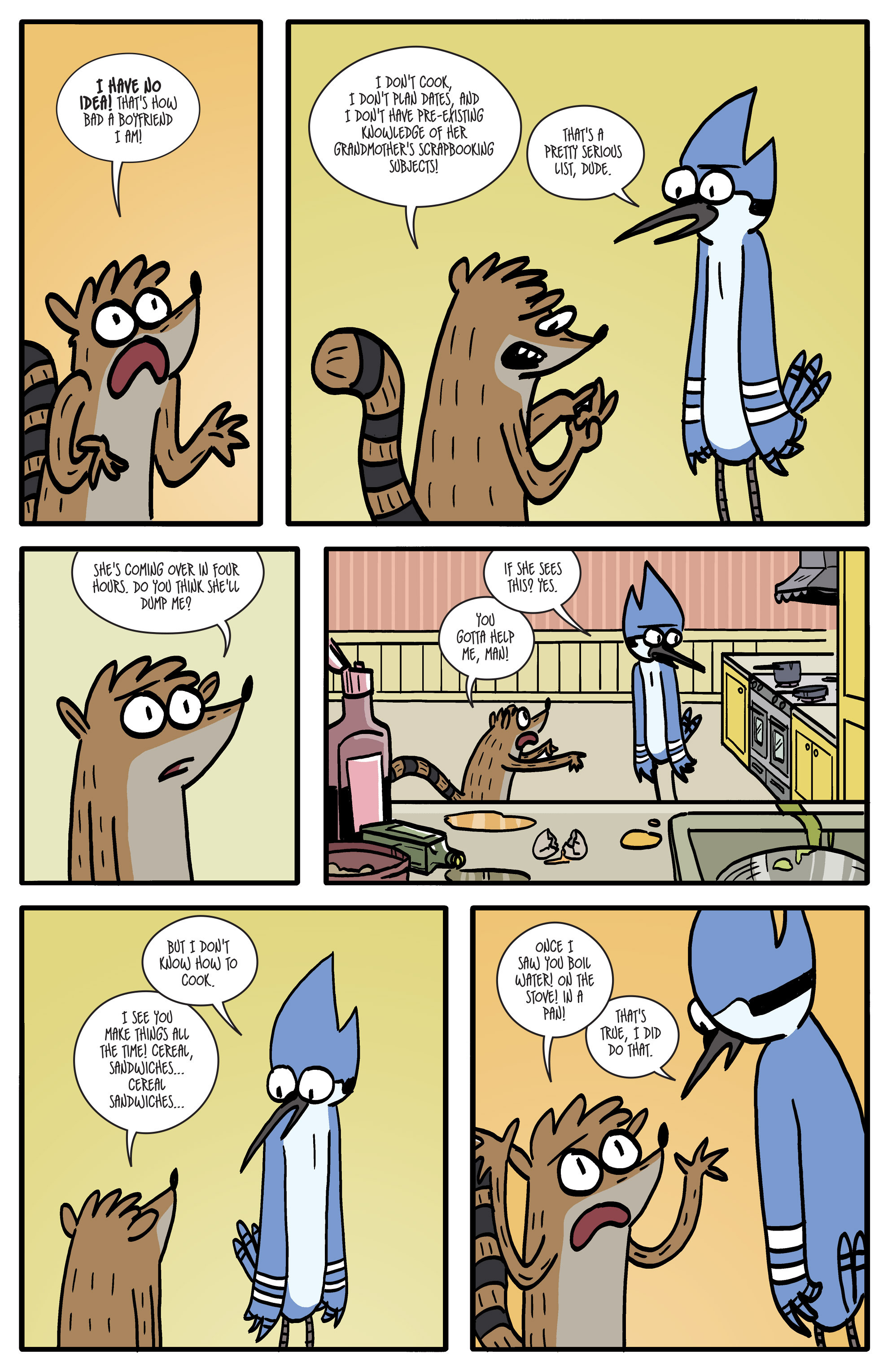 Read online Regular Show comic -  Issue # _2017 Special 1 - 28
