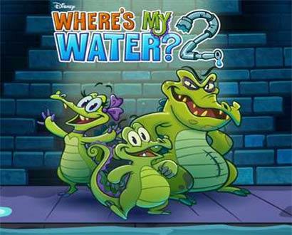 لعبة التمساح والماء Where My Water 2 للكمبيوتر – موبايل – تابلت