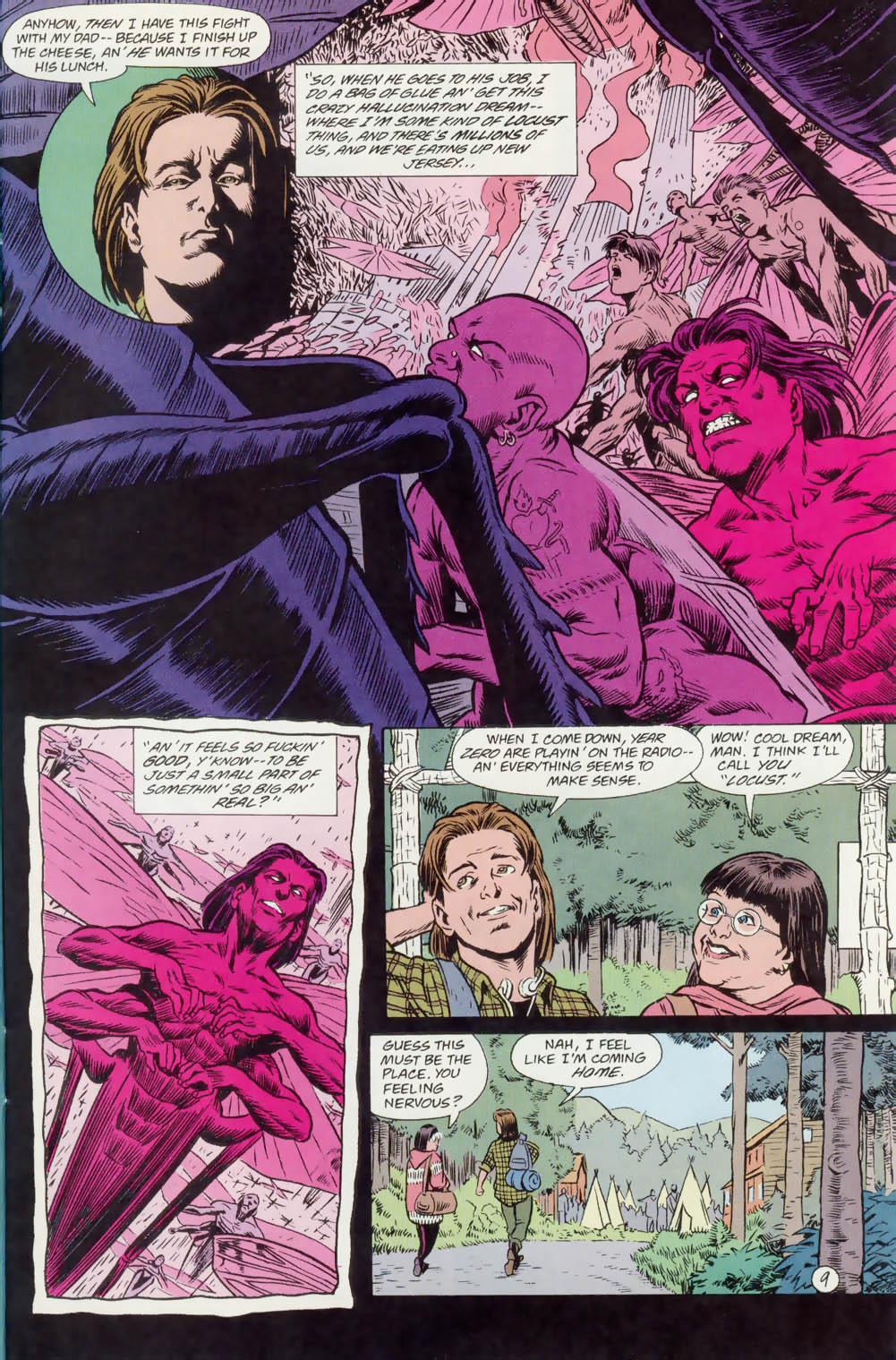 Read online Animal Man (1988) comic -  Issue #74 - 10