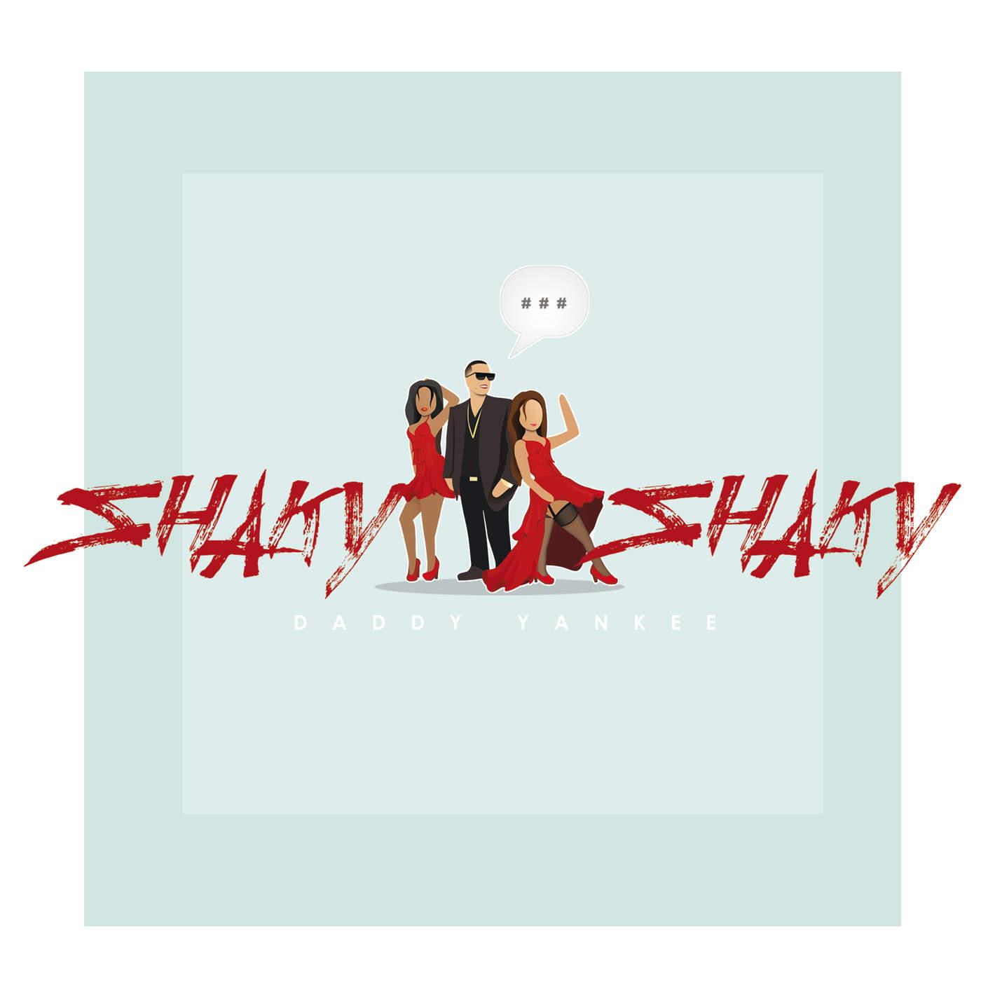 Daddy Yankee - Shaky Shaky - Single Cover