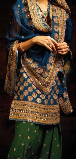 Beautiful girls in Designer Punjabi suits