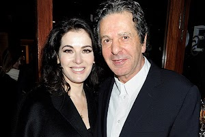 Quarrel with strangulation: Charles Saatchi quarreled with Nigel Lawson