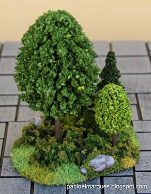Pieza de bosque