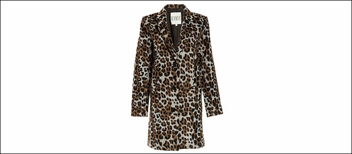 bb dakota leopard coat