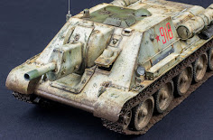 """Su"" build Pt.II - MiniArt's 35th scale Su-122 Soviet Self-Propelled Gun Initial Prod kit"