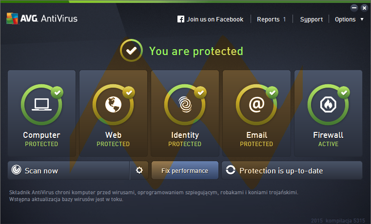 AVG AntiVirus 2015 15.0.5576 Full License Key