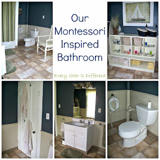 Our Montessori Inspired Bathroom