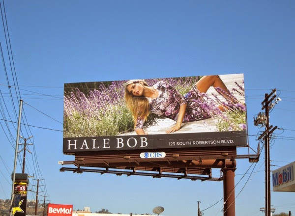 Hale Bob Fall 2014 lavender billboard