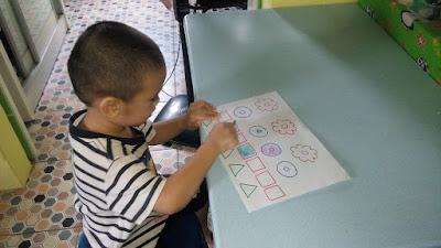 Lil' Iman mencuba Home Schooling untuk pertama kali