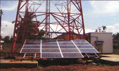 using solar energy to power base stations