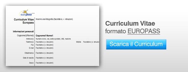 Curriculum Vitae Scaricare Il File Word Del Curriculum Vitae Europeo
