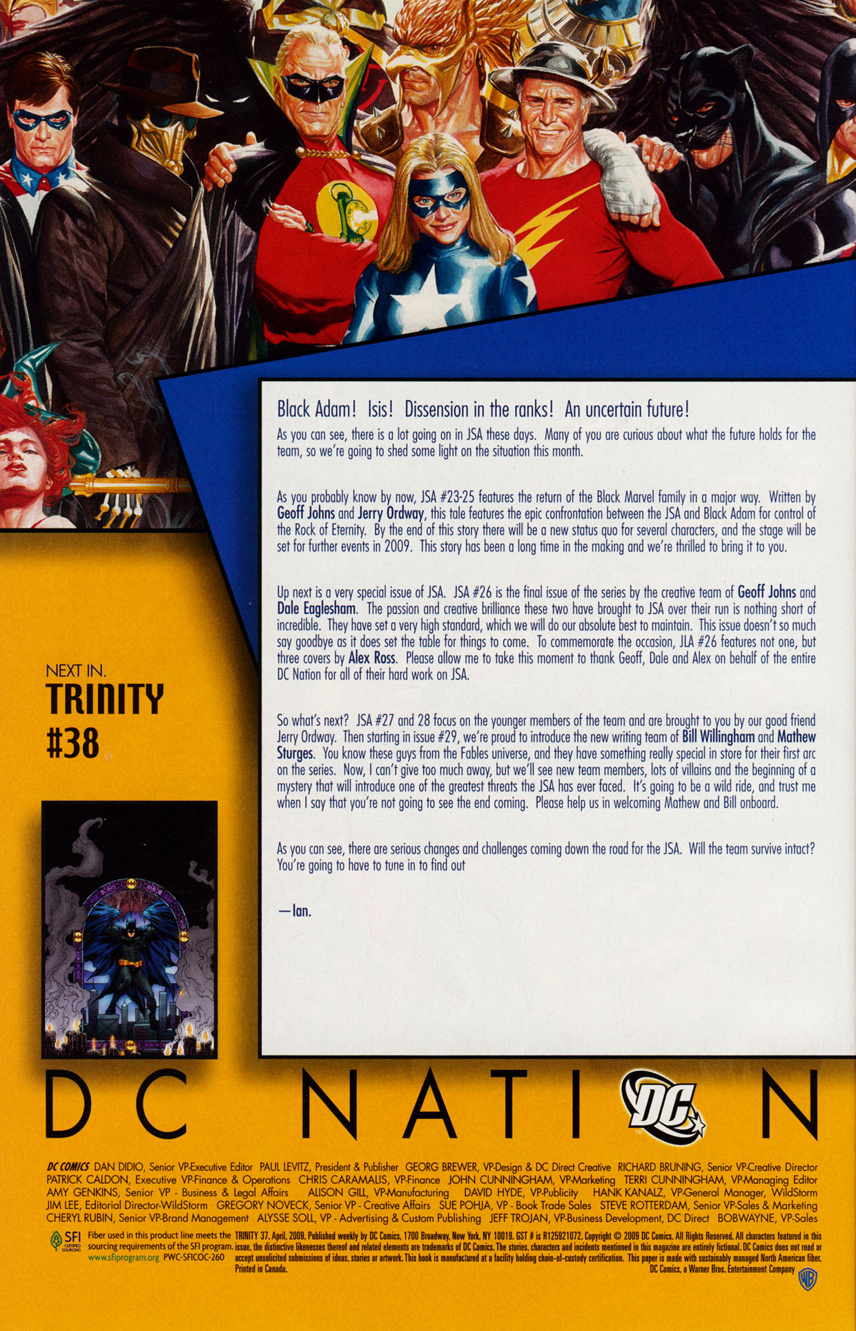 Read online Trinity (2008) comic -  Issue #37 - 30