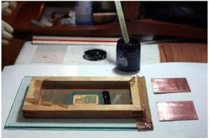 Pengerjaan Sablon PCB