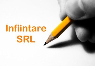 înființare SRL