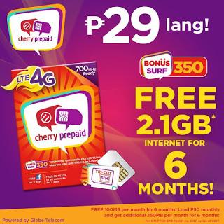 Cherry Prepaid LTE Sim
