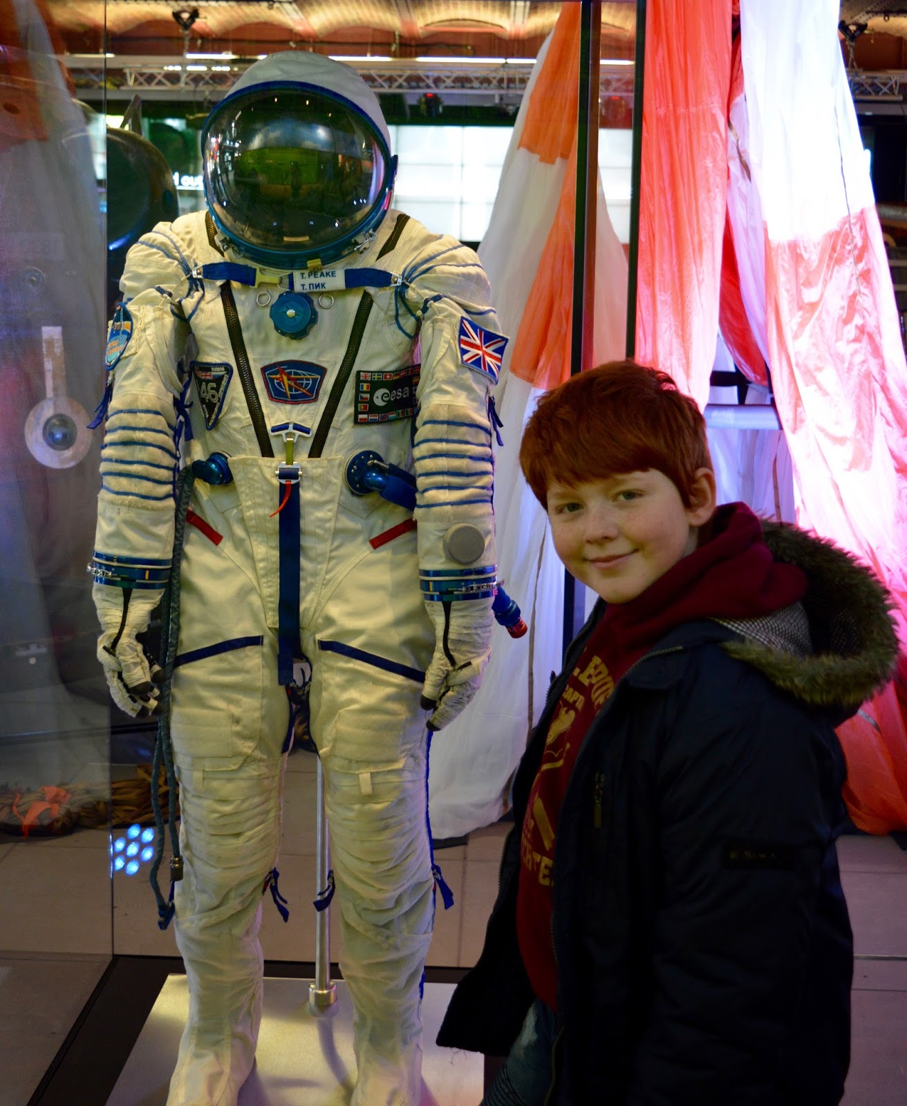 Why you should take the kids to see Tim Peake's Spacecraft at Museum of Science & Industry, Manchester