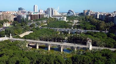 Taman Cantik Citarasa Valencia, Spanyol