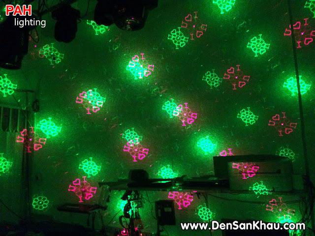 Máy chiếu laser hiệu ứng đẹp