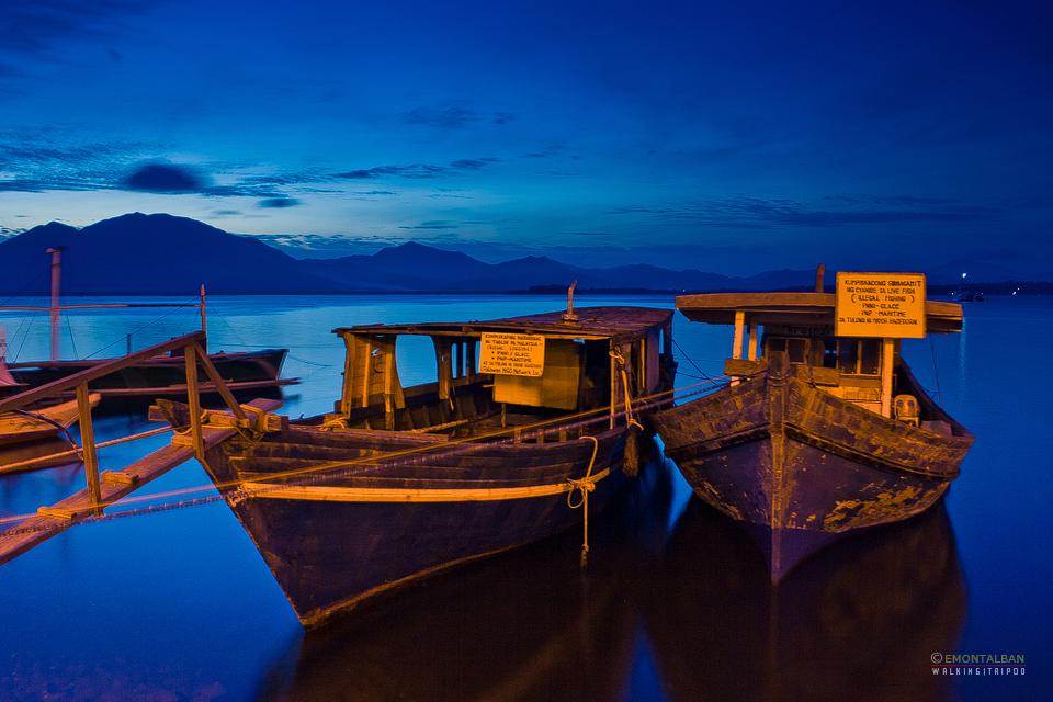 Blue hour shot at Puerto Princesa Baywalk