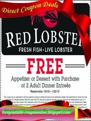 Printable Coupons 2019: Red Lobster Coupons