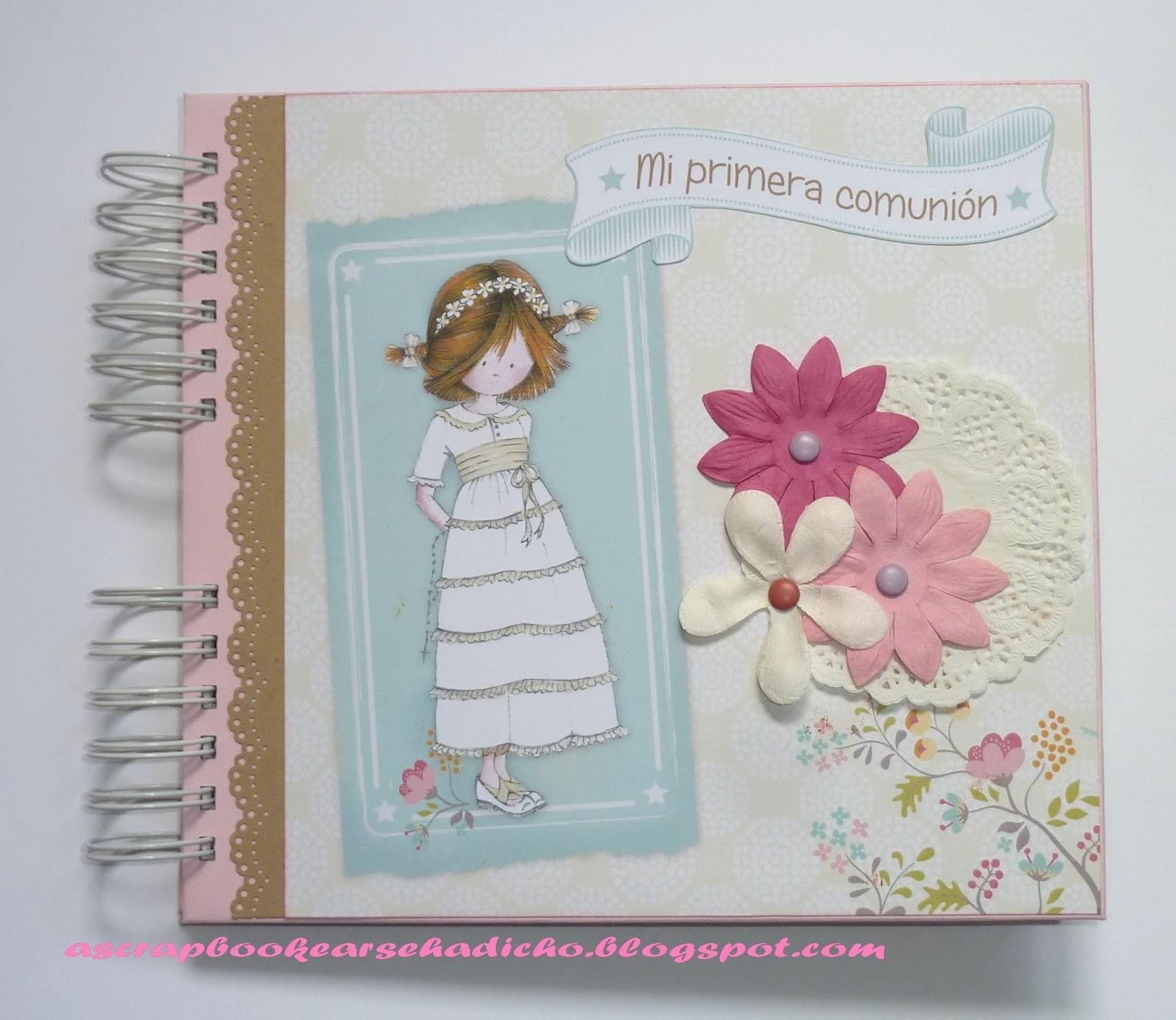 A scrapbookear se ha dicho lbum de comuni n rsula - Papeles para decorar ...