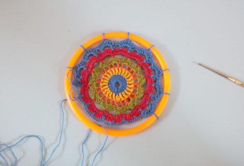 Mandala Crochê Passo a passo