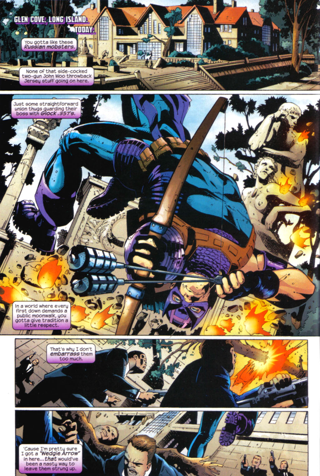 Hawkeye (2003) Issue #7 #7 - English 6