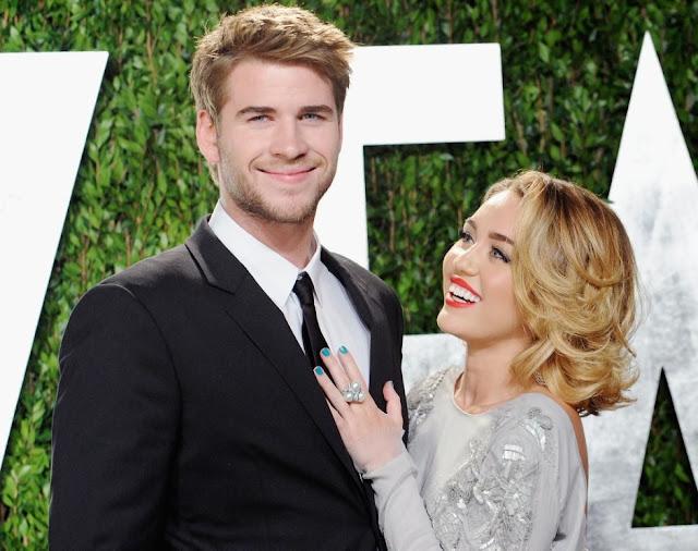 Liam Hemsworth y Miley Cyrus no están comprometidos.