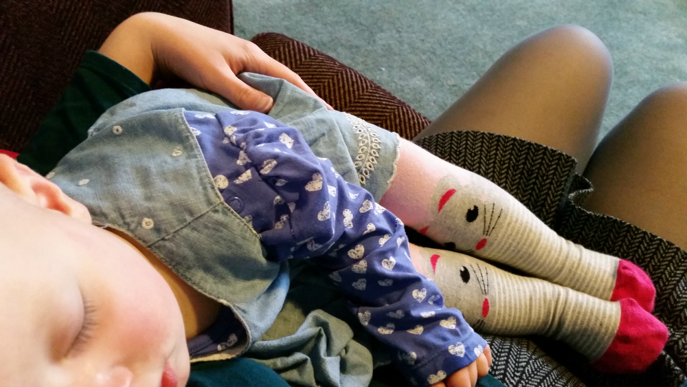 Toddler Togs: Mouse tights
