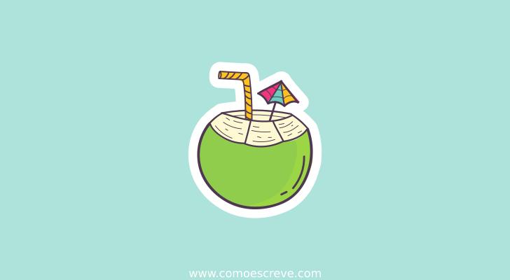 Coco, côco e cocô – qual a grafia correta
