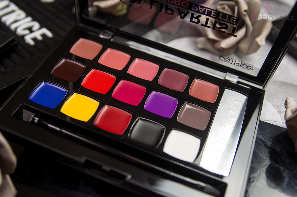 Catrice Lip Artist Pro Palette offen