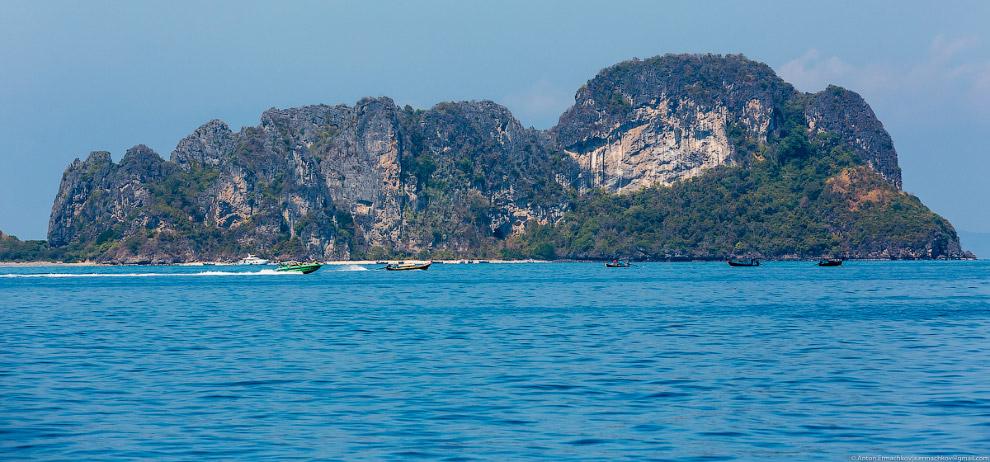 Пляжи Андаманского моря: острова Пхи-Пхи (13 фото)