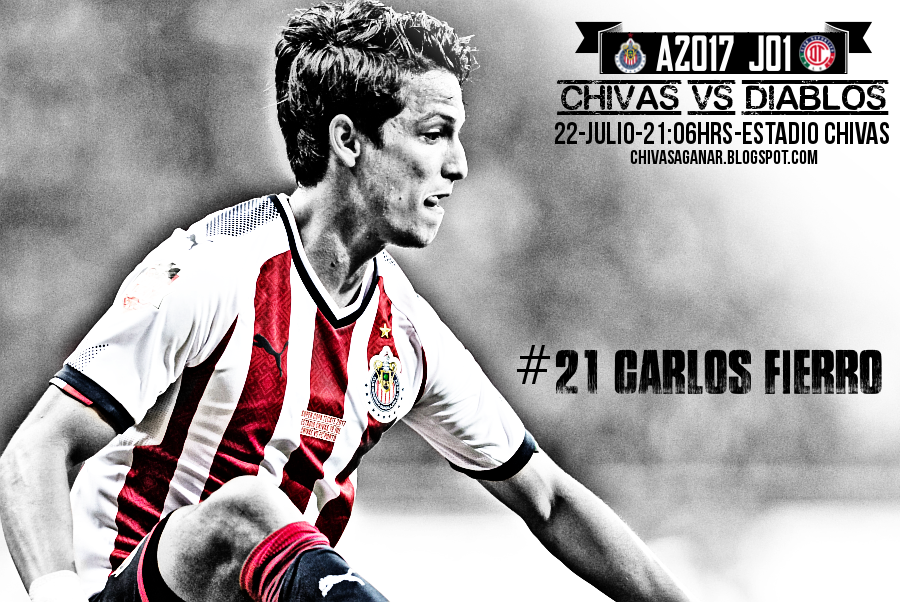 Liga MX : CD Guadalajara vs Deportivo Toluca FC - Apertura 2017 - Jornada 1.