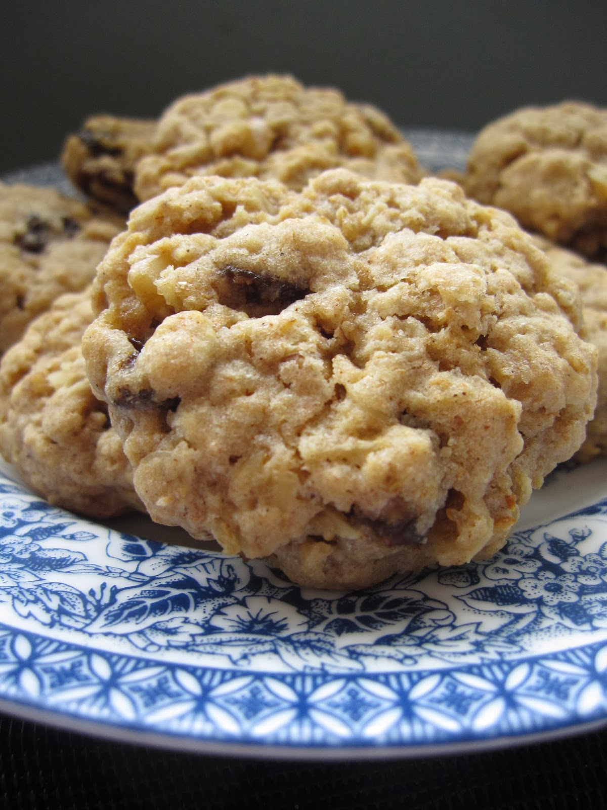 Walnut Oatmeal Raisin Cookies | A Taste of Madness