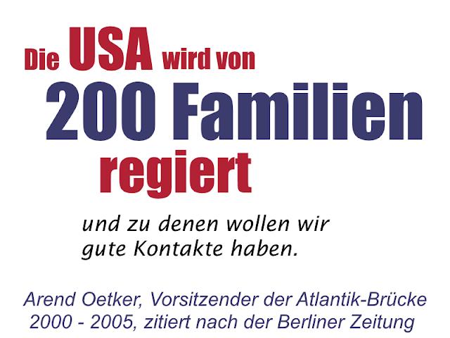 Eine winzige Elite weniger mächtiger, super-reicher Familien kontrolliert die USA. Sind die USA eine Demokratie oder eine Oligarchie?