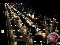 Hingga H+1 528.582 kendaraan melintas tol Cikampek