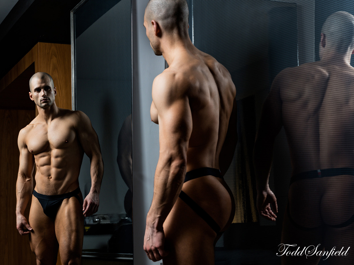 Talking all things bulge with Todd Sanfield for Paper Magazine