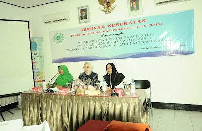Milad Ke-104, Aisyiyah Gelar Seminar Kesehatan THT
