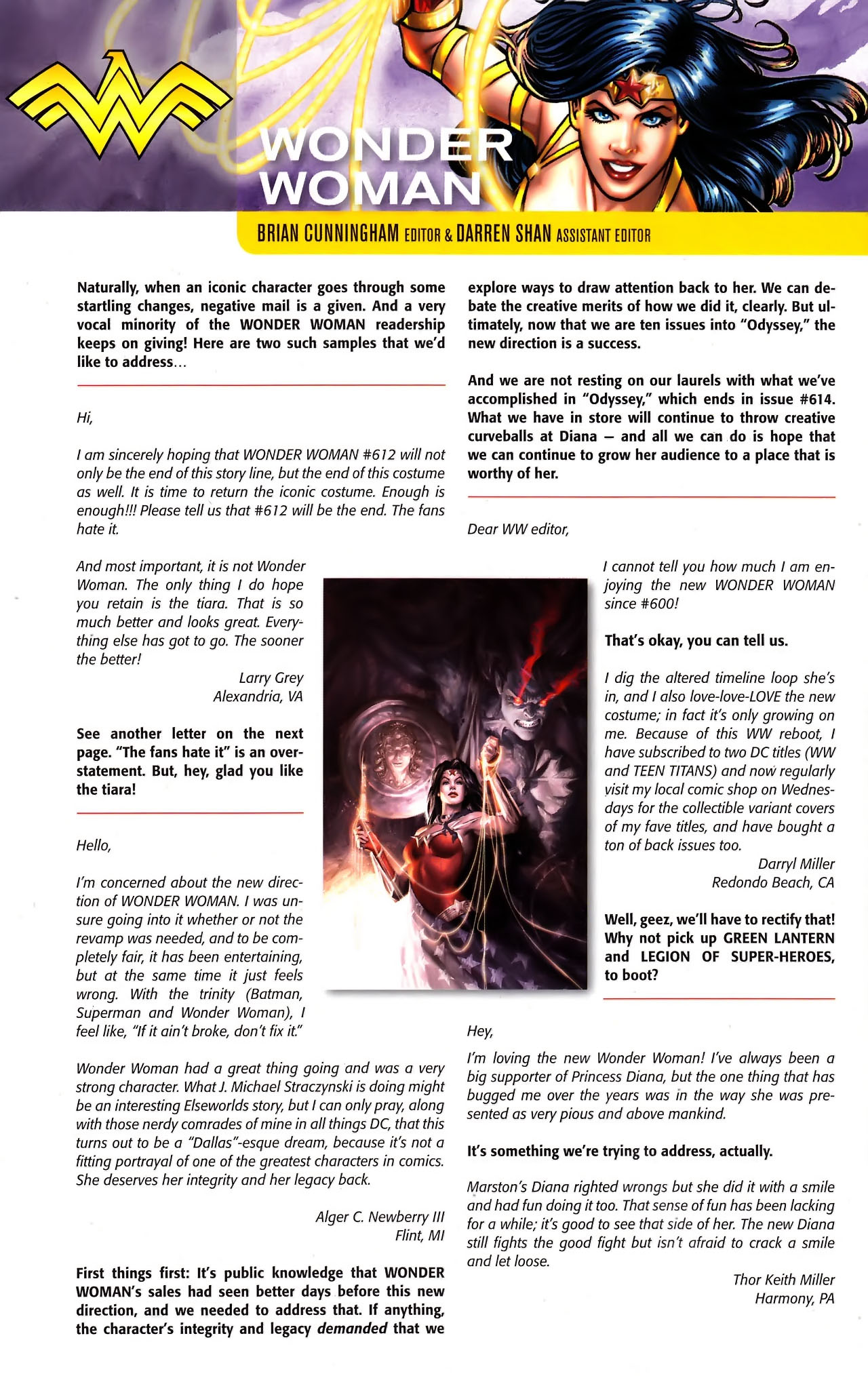 Read online Wonder Woman (2006) comic -  Issue #610 - 22