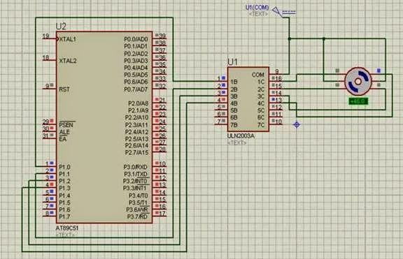 Stepper motor interfacing with 8051