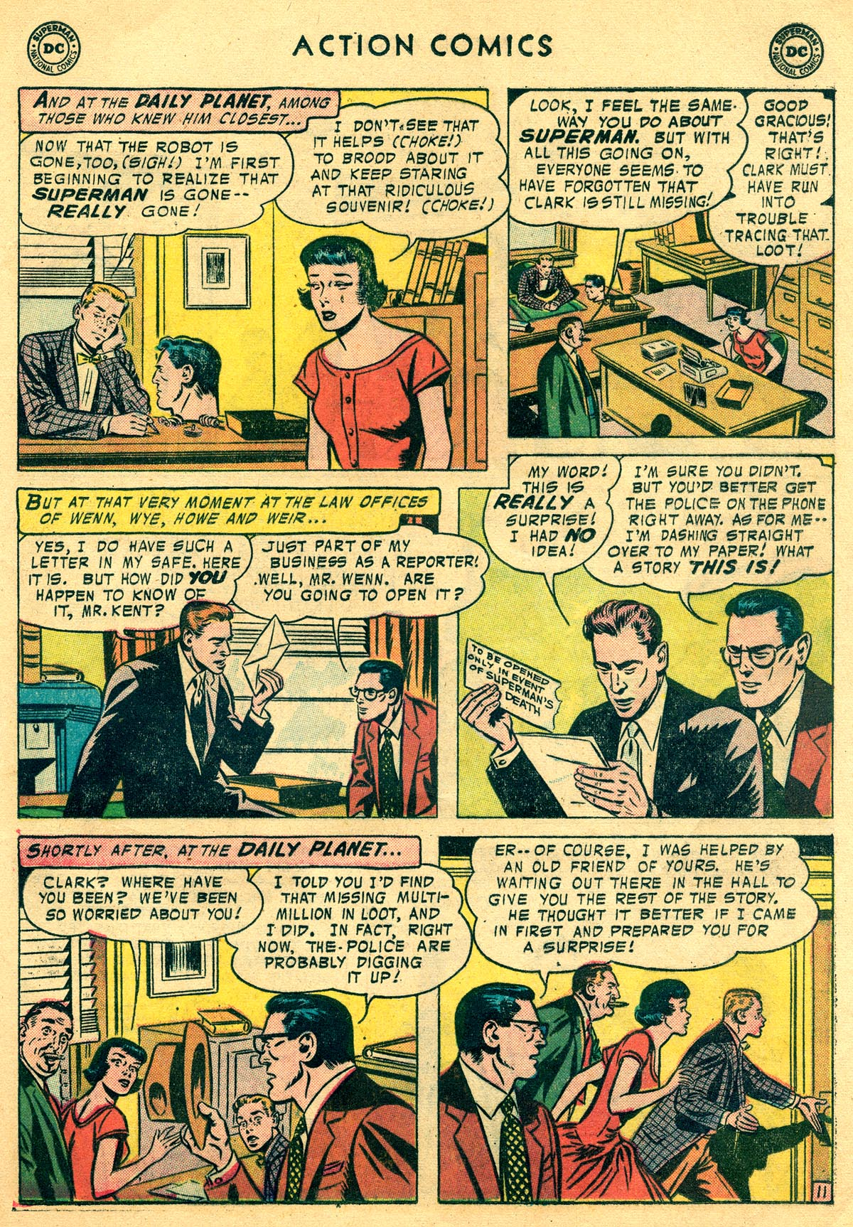Read online Action Comics (1938) comic -  Issue #225 - 13