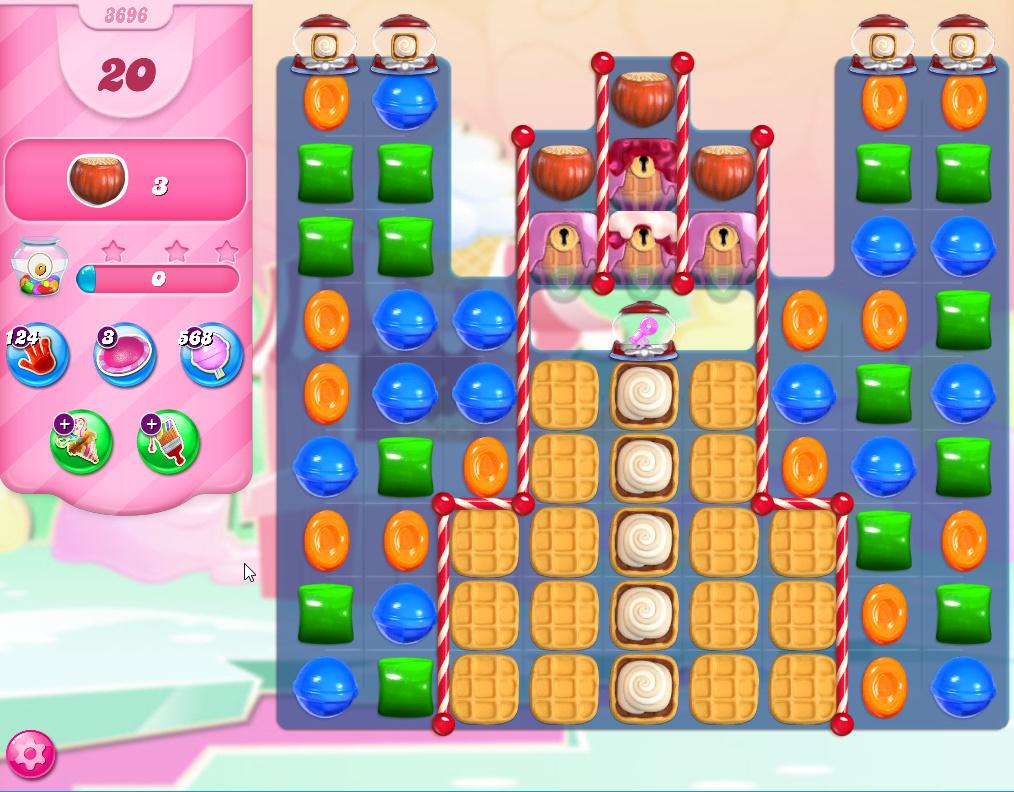 Candy Crush Saga level 3696