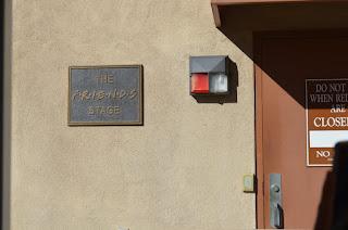 El set de rodaje de Friends