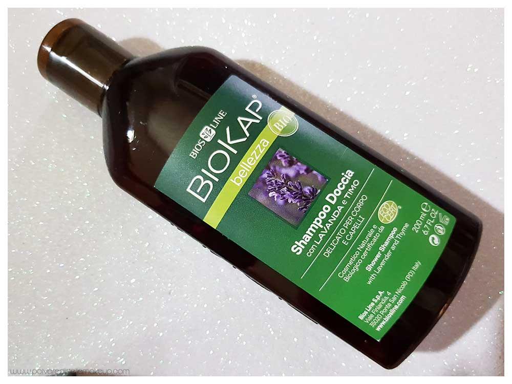 Shampoo doccia bio lavanda e timo Biokap